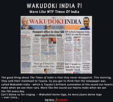 Wakudoki India?!
