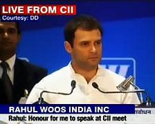 Sigh! Rahul Goes To CII