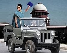Indira, Jeeps and Blue Books