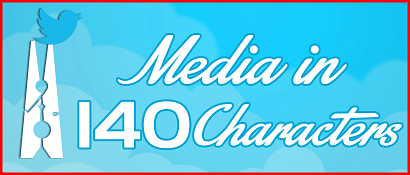 Media in 140 characters