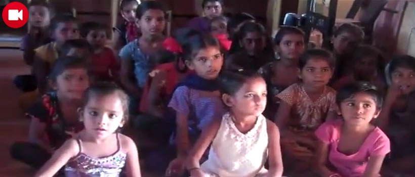 Corruption-free meals in a village in Gujarat