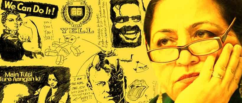 Madhu Kishwar's Doodles