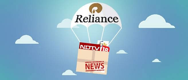 Indebted To Reliance: NDTV's Holding Company