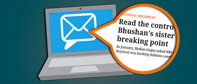 AAP Wars: The Email By Prashant Bhushan's Sister That Was Left Out