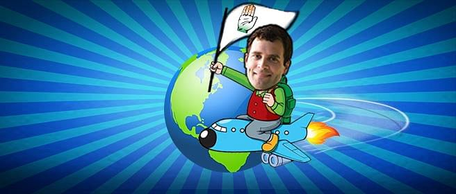 Around The World With Rahul Gandhi
