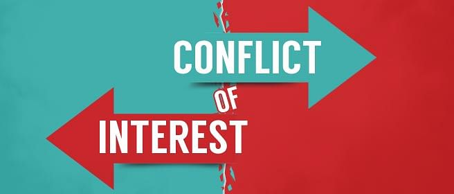 Conflict Of Interest: As spotted by you.