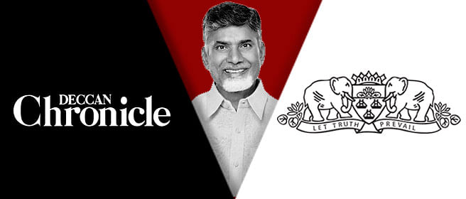 It's a story…it's a plant…it's Deccan Chronicle versus Times Group again