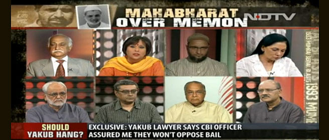 Notices to ABP, NDTV and India Today for questioning Memon judgement. Did they not see the other channels doing the same?
