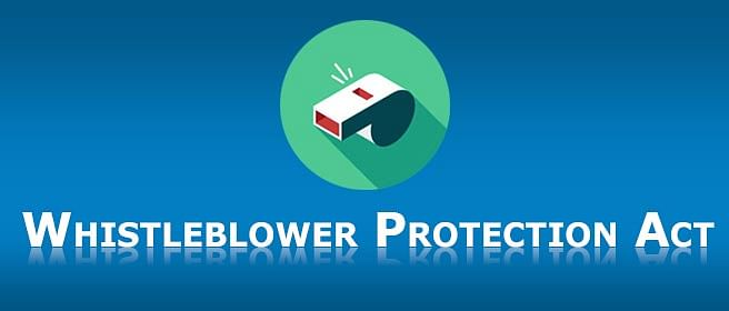 Who is the Whistle Blowers Protection Act trying to protect