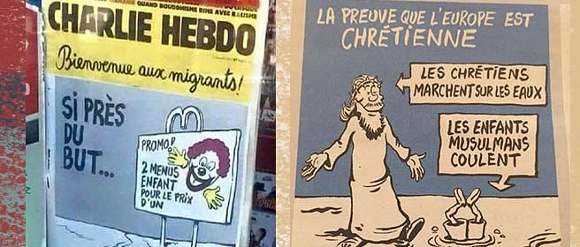 Charlie Hebdo's cartoons are not in bad taste, your outrage over them is