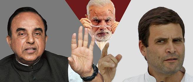 Swamy trolls Rahul who trolls Narendra Modi who is where?