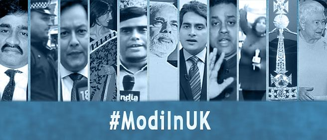 17 ridiculous moments that formed part of the Indian media coverage of Modi's visit to UK