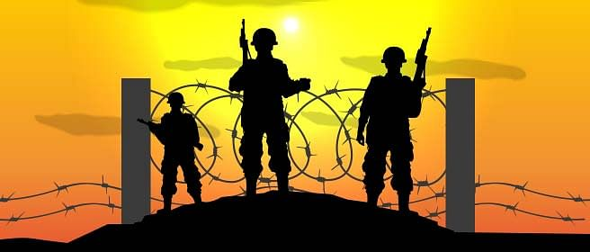 Who is responsible for guarding our borders?