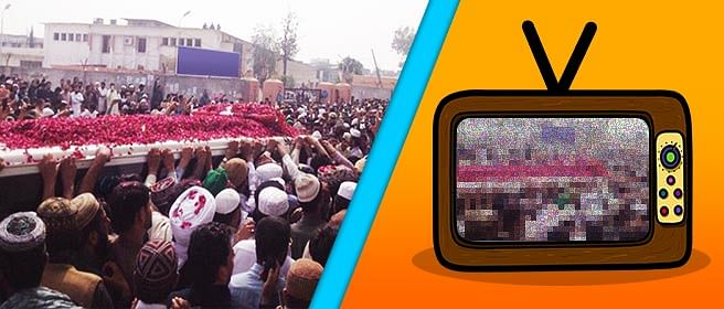 Why Pak TV channels were advised to black out the funeral of Salman Taseer's assassin
