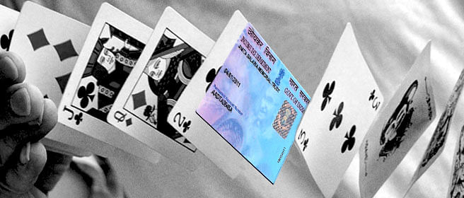 Bihar and UP are two states with the lowest PAN card holders