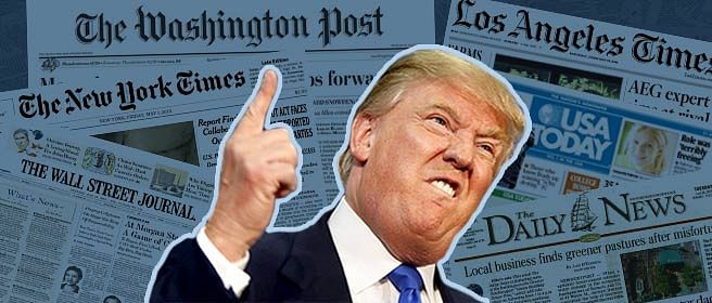 Trump's tirade against journalists and what it means for patrakaars back home