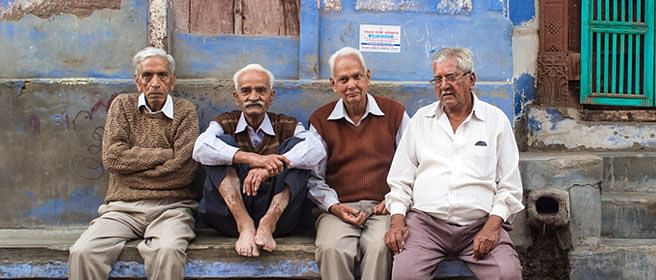 Indian parents expect to stay with sons in their old age