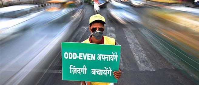 Despite odd-even scheme, Delhi's air pollution rose by 23%