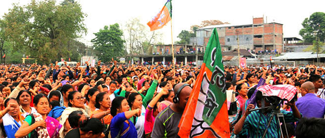 BJP performed better in low turnout areas of Assam