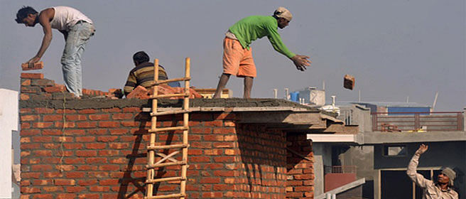 Poverty levels may rise due to slowdown in construction