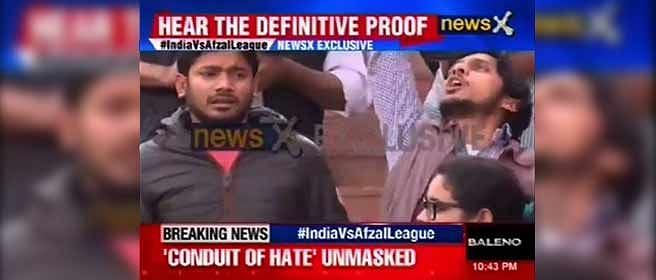 NewsX didn't play 'raw footage' on JNU, Mr Shivshankar