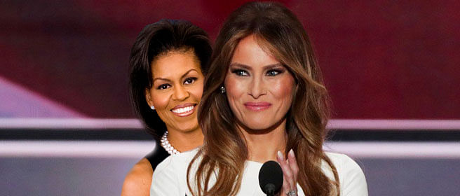 Melania Trump was inspired by…Michelle Obama!