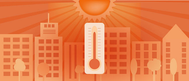 How concrete cities are building up the heat in India