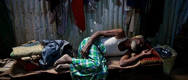 Nearly 75 per cent of India's households live in two rooms or less