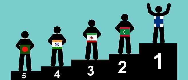 India lags behind its neighbours on social indicators