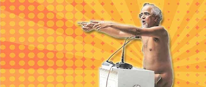 Tarun Sagar and the naked truth