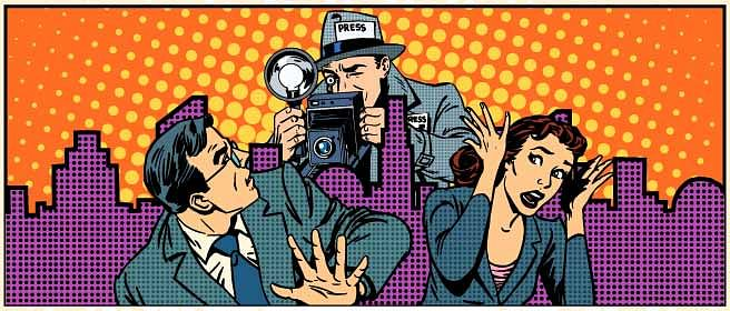 Journalists expose more of themselves than they realise