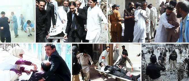 Quetta blasts: hospital bomb kills 53