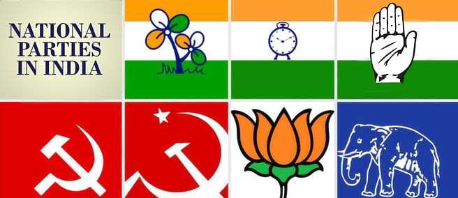 When is a Political Party recognized as a National or State Party?