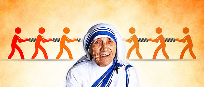 Is Saint Teresa Making The Indian Right Turn Left?