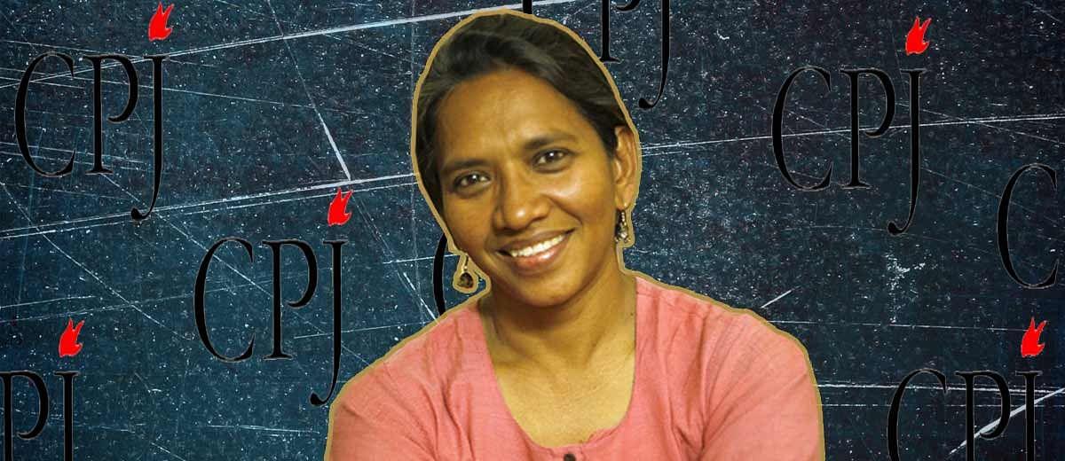 Malini Subramaniam honoured with CPJ International Press Freedom Award 2016