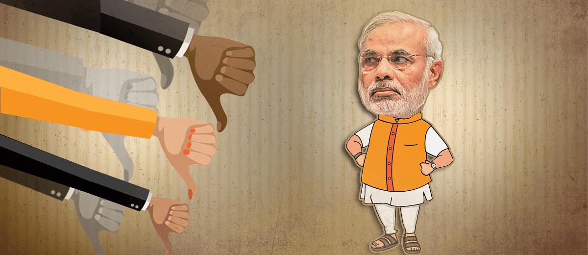 Narendra Damodardas Modi – A Failure