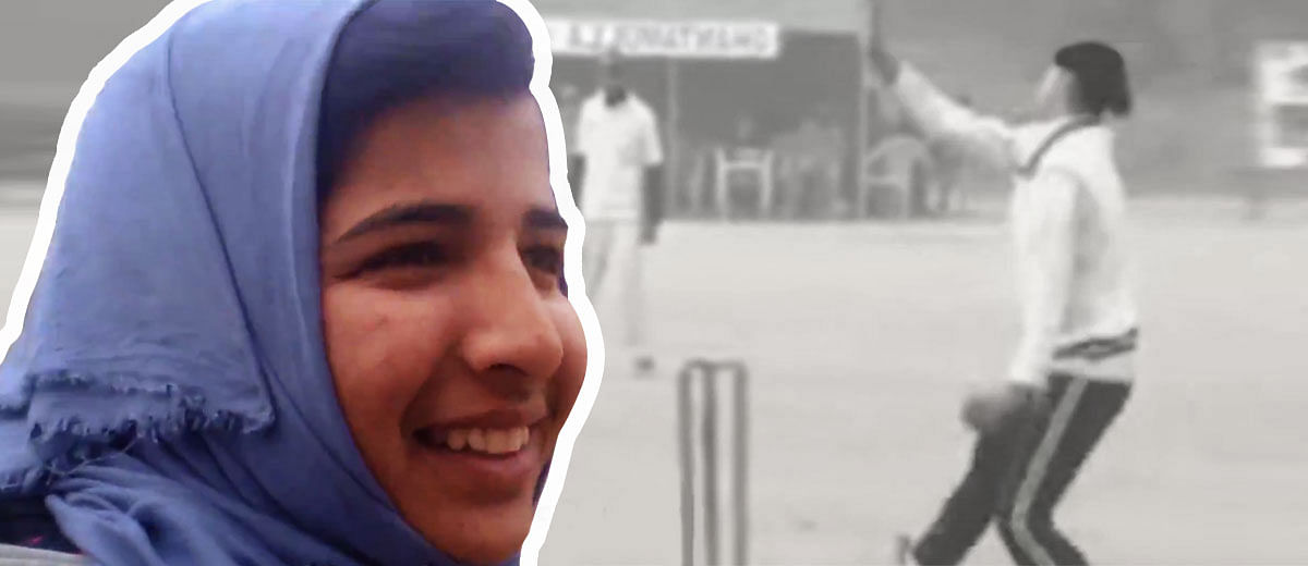 Meet The Kashmiri Girl Who Wants To Be A Cricketing Star
