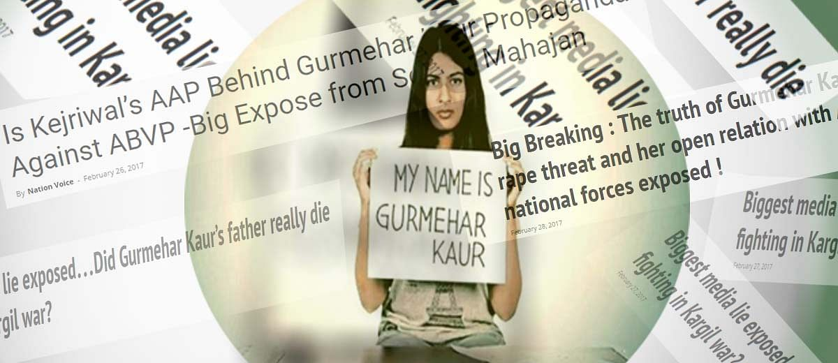 Gurmehar Kaur: Guess Who's Attacking A 'Martyr's' Daughter