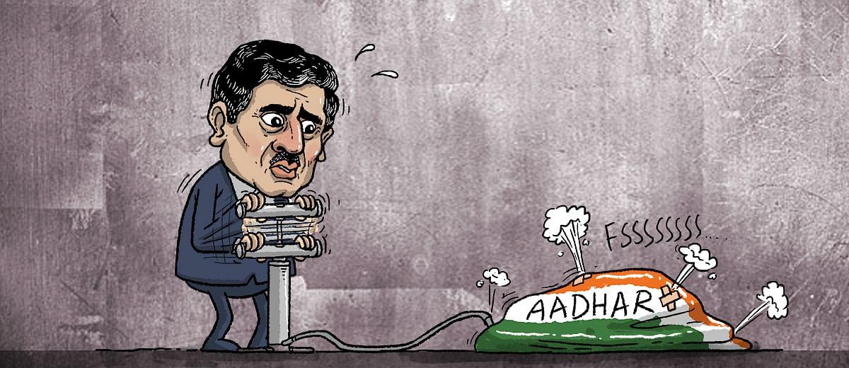 A rebuttal to Nandan Nilekani's arguments for Aadhaar