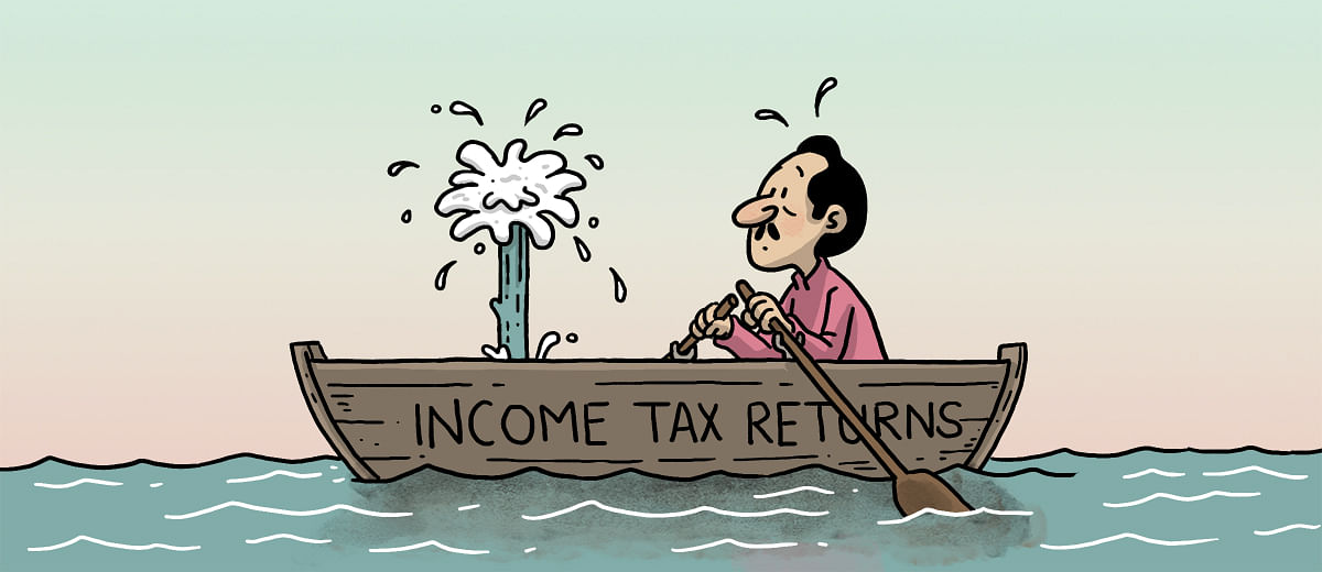 How safe are our income tax returns?