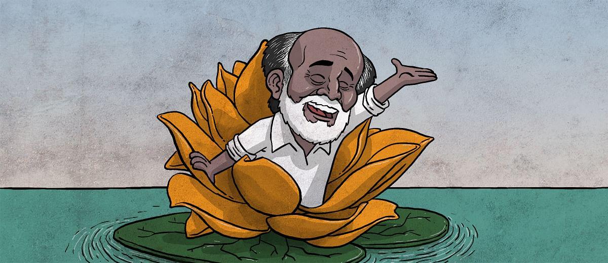 On the BJP joining Rajinikanth