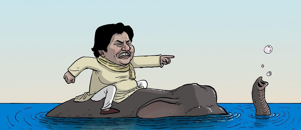 Mayawati, not corruption, is the nemesis of BSP