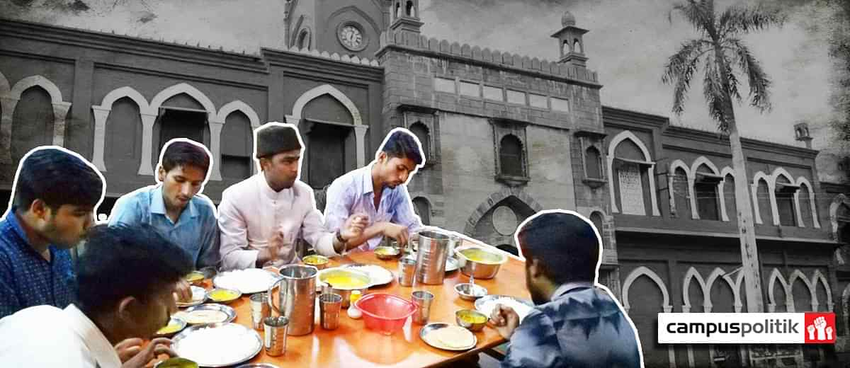 No Amu Is Not Force Starving Its Non Muslim Students