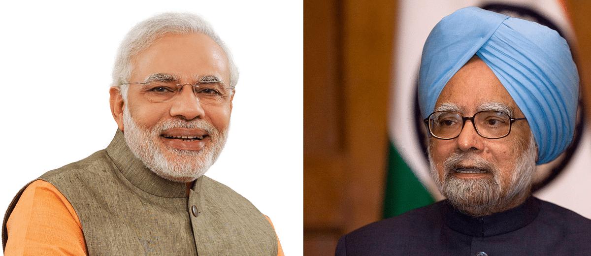 Did Manmohan Singh undertake more foreign visits than Narendra Modi?