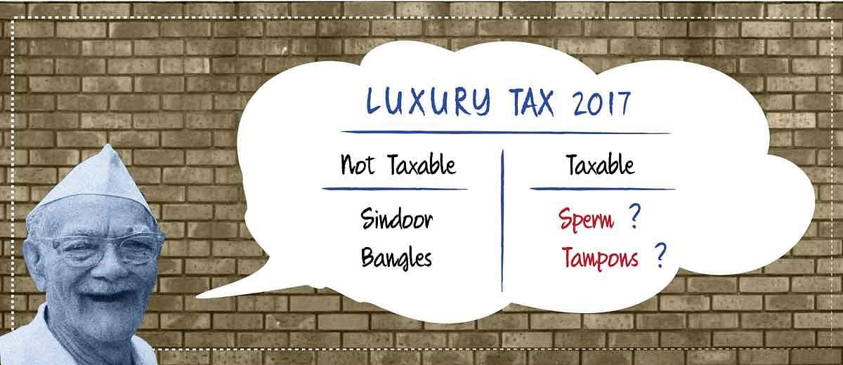 Have uterus? Pay tax.
