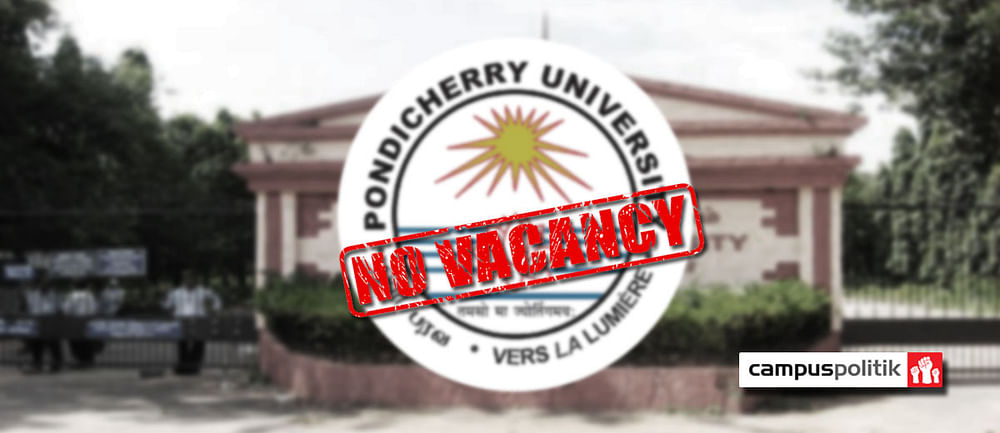 Pondicherry University The Staggering Gender Disparity In Hostel Vacancies Is Not As Simple As You Think
