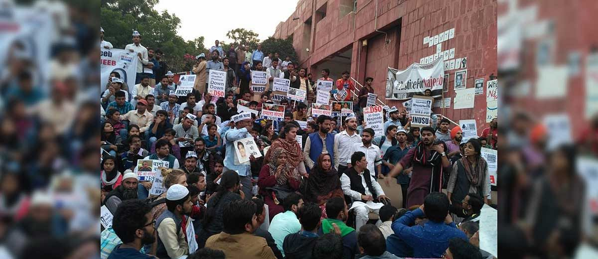 Six JNU students fined and issued hostel transfer