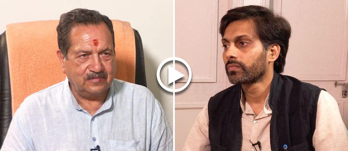 Why run away from an interview, Mr Indresh Kumar?