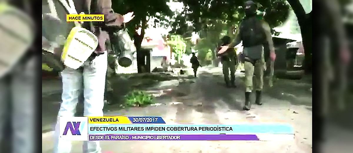 Journalists detained, attacked, and threatened amid unrest in Venezuela