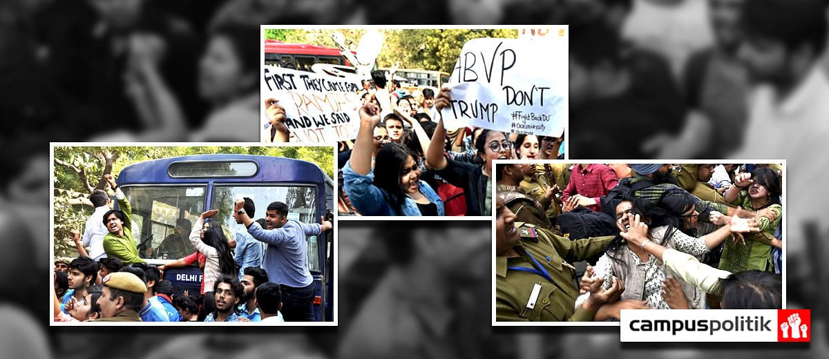 Delhi Police's action taken report on Ramjas College violence a farce